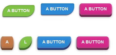 Pure CSS3 Customizable Pressure Buttons