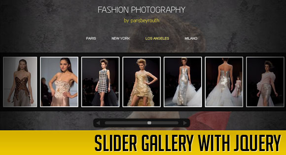 SLIDER GALLERY WITH JQUERY