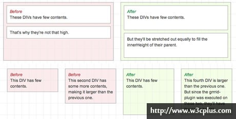 Grrrid – jQuery Equal Height Grid Plugin