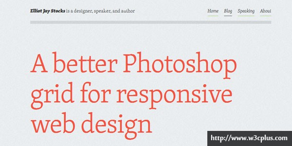 A Better Photoshop Grid for RWD