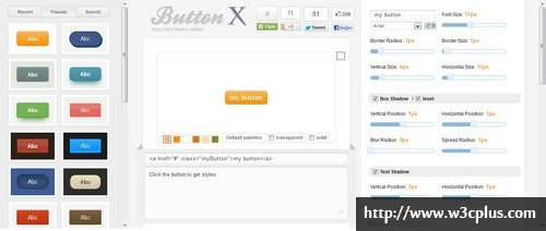 Webarti CSS3 Button Maker