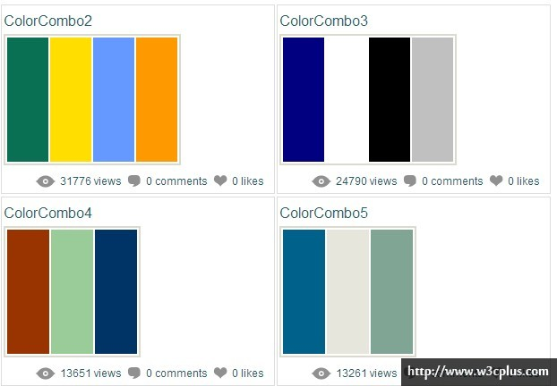 Color Schemes and Color Palettes
