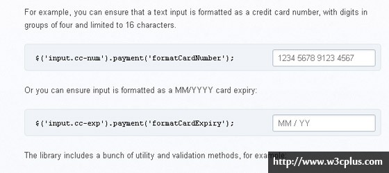 jquery payment