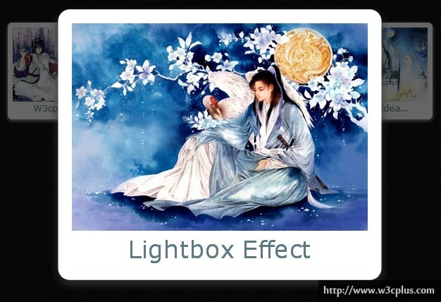 Lightbox effect with Tabindex and CSS3