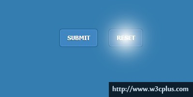 Pure CSS3 Create Luminous Button